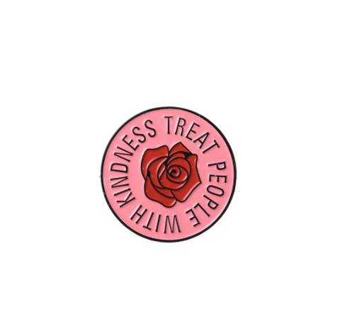 Treat People with Kindness - Enamel Pin