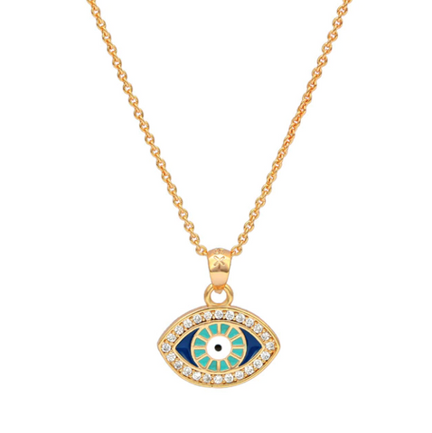 Nazar Necklace - Gold