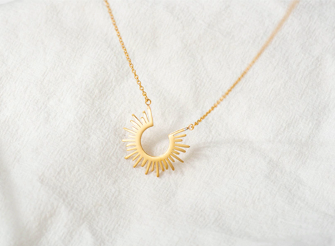 Sunshine Necklace - Gold