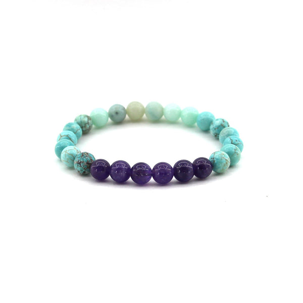 Aquarius - Zodiac Gemstone Bracelet