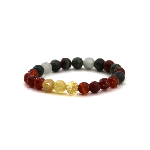 Aries - Zodiac Gemstone Bracelet