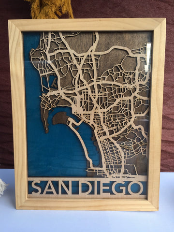3D Map of San Diego