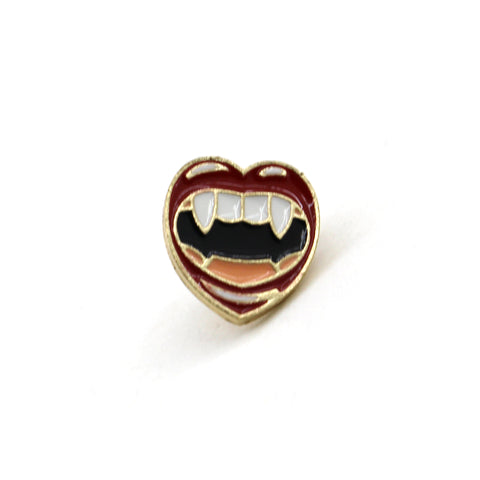 Vampire Fangs - Enamel Pin
