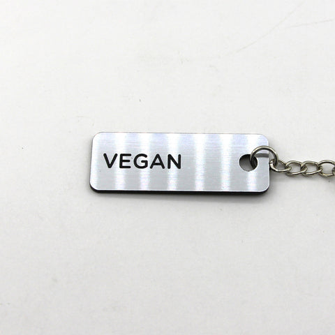 Engraved Keychain - Vegan