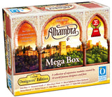 "3D graphic of the Alhambra ""Designers Edition"" - MegaBox game box."