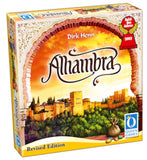 "3D graphic of the Alhambra ""Revised Edition"" game box."