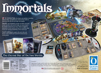 Graphic of back of Immortals - BigBox game box.