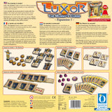 Graphic of back of Luxor - Expansion 1 game box.