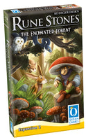 3D graphic of the Rune Stones - Expansion 2 game box.