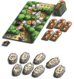 Graphic of setup of Rune Stones - Expansion 2