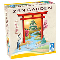 3D graphic of the Zen Garden game box.