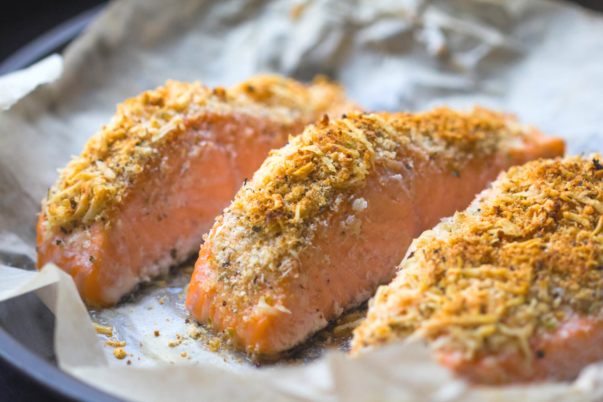GG Crusted Salmon
