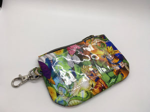 ID Keychain Zippered Pouch