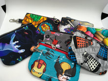 Load image into Gallery viewer, ID Keychain Zippered Pouch