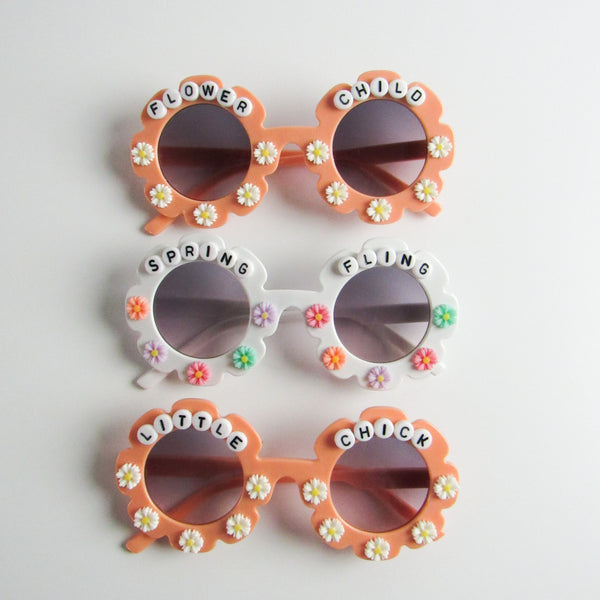 Pushing Daisies Flower Sunnies