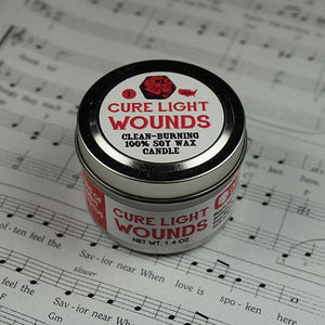 Cure Light Wounds Candle