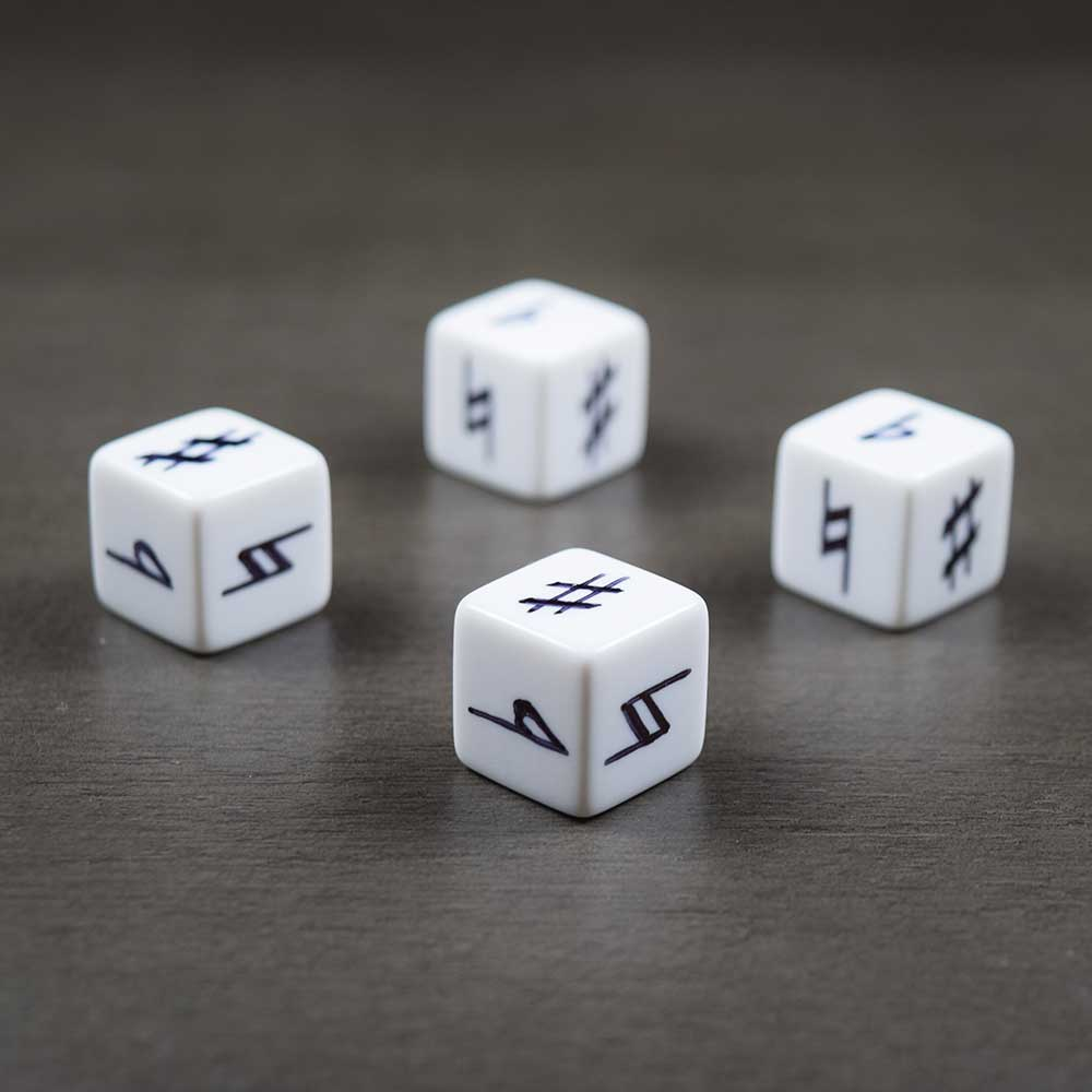 Music Dice Set for Fudge