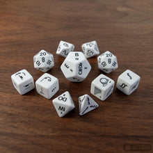 Load image into Gallery viewer, Music Dice Set for D&D