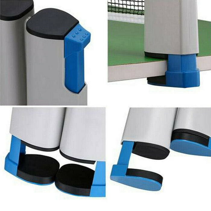 Portable & Retractable Table Tennis Net Any Where For Any Table