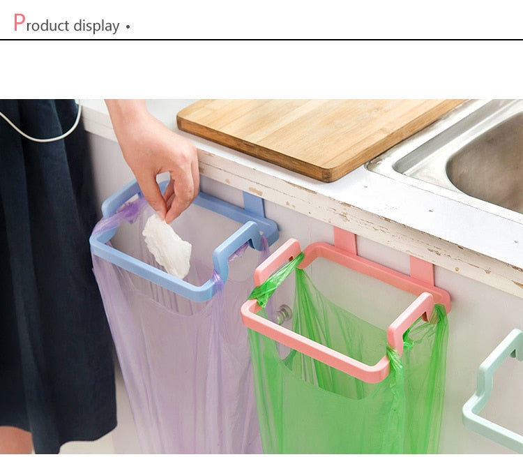 Portable Kitchen Trash Bag Holder