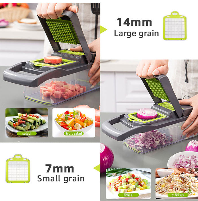 16 Pieces Multi-function Chopping Sliceing Set
