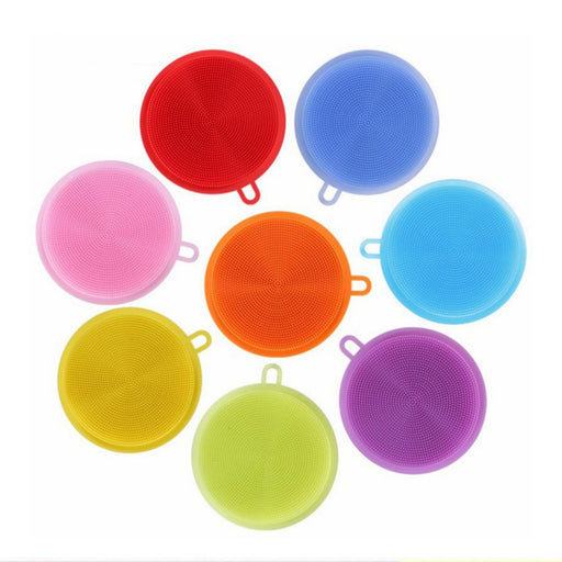 Multifunctional Silicone Non Stick  Washing and Cleaning Sponge