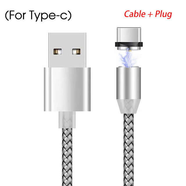 Magnetic USB Fast Charging Cable For Android