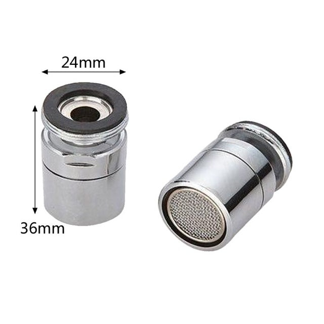 Water Saving Tap Faucet Aerator Sprayer Attachment with 360-Degree Swivel