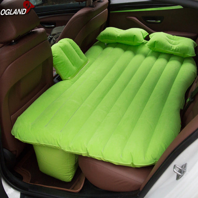 Car Air Inflatable Travel Mattress Bed for Car and Outdoor Camping