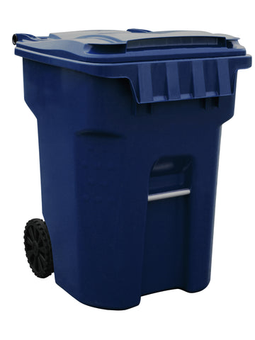 Millennium - 95 Gallon Dark Blue Cart