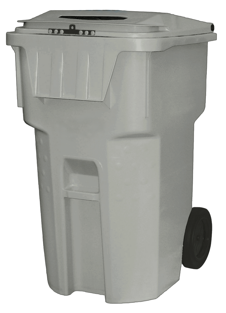 Classic - 95 Gallon Gray Document Security Bin