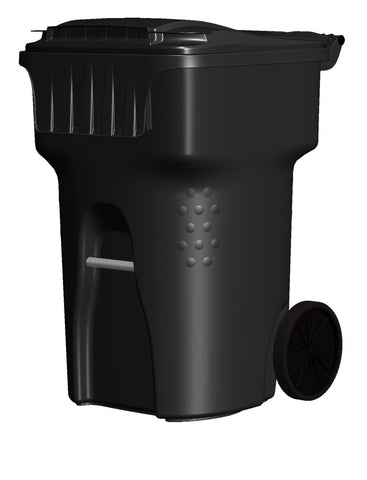 Edge - 95 Gallon Black Cart