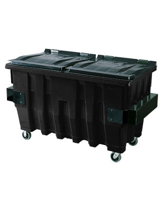 Pioneer - 2 Yard Black Commercial Container