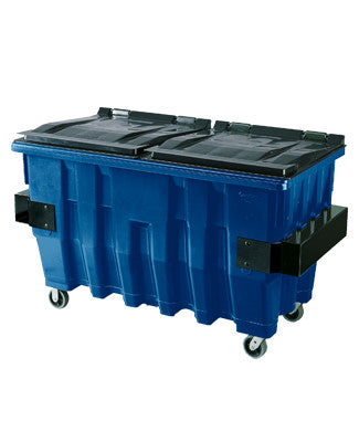 Pioneer - 2 Yard Blue Commercial Container