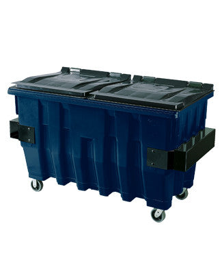 Pioneer - 2 Yard Dark Blue Commercial Container