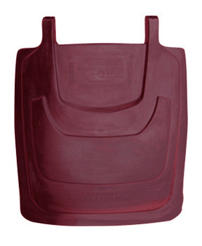TR - 95 Gallon Burgundy Cart Lid