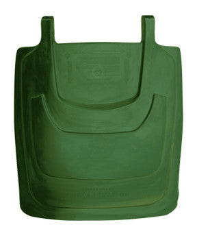 TR - 95 Gallon Forest Green Cart Lid