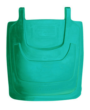 TR - 95 Gallon Kelly Green Cart Lid