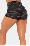 CAMO SCRUNCH BUM Shorts