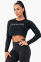 Aisthetikos signature Raw Crop Top