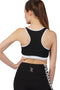 Aisthetikos signature Black Sports Bra