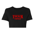 THICKER THINGS Crop Top/Hoodie