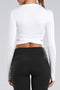Cross-belt Crop top Series(white)