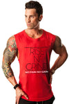 Rise N Grind Gym Drop Arm Tank(RED)