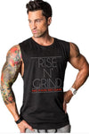 Rise N Grind Gym Drop Arm Tank(Black)