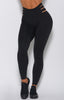 Savage Cut Leggings ( Black )