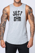 Just Gym Drop Arm Tank(Black)