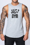 Just Gym Drop Arm Tank(Grey)