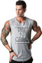 Rise N Grind Gym Drop Arm Tank(Grey)