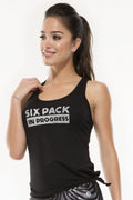 Six Pack Coming Soon  Tank Top